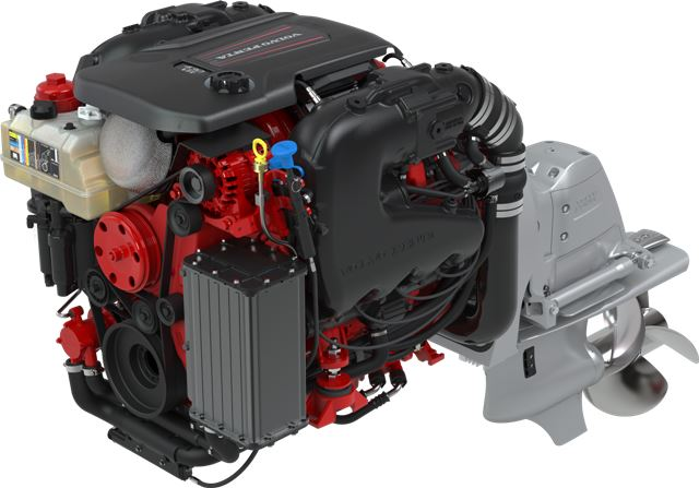 Volvo Penta Unveils New 380 & 430 hp V8 Marine Gasoline Engines at 2017 Miami International Boat ...