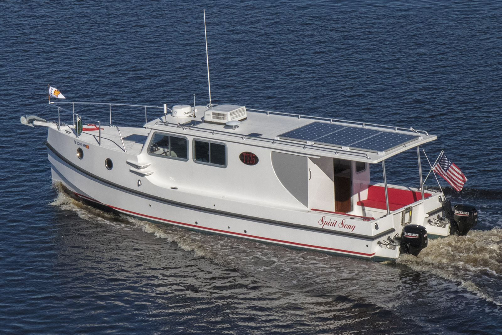 Meet the new Great Harbour Trawler from Mirage Manufacturing