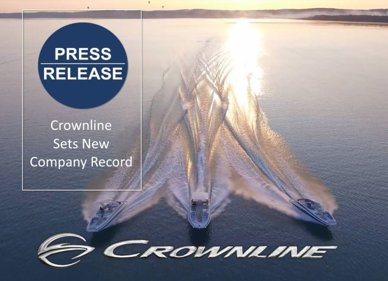 Crownline Announces 10 New Models Crownline Boats commits to