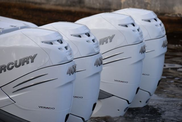 Mercury Makes News In Miami (Again) Verado 400, Power Products