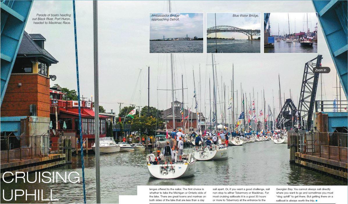 Cruising Uphill Tim McKenna explores sailing on the Great