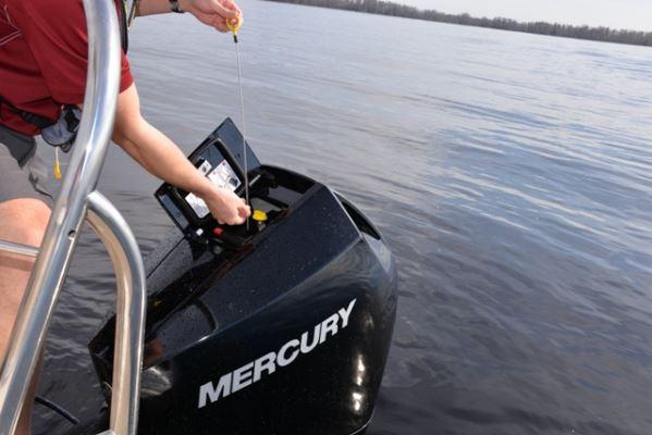Mercury Unveils V6 Outboards More powerful plus unique look makes